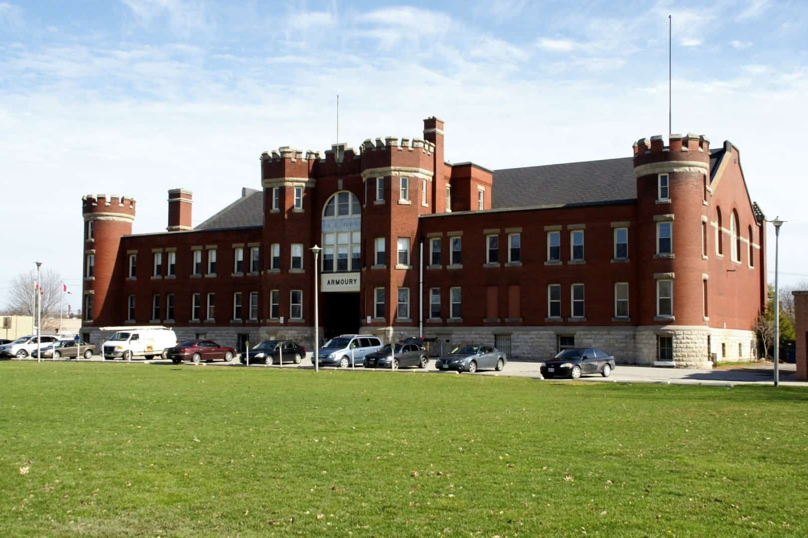 Castle Chatham Armoury, the century-old heritage building in Chatham-Kent