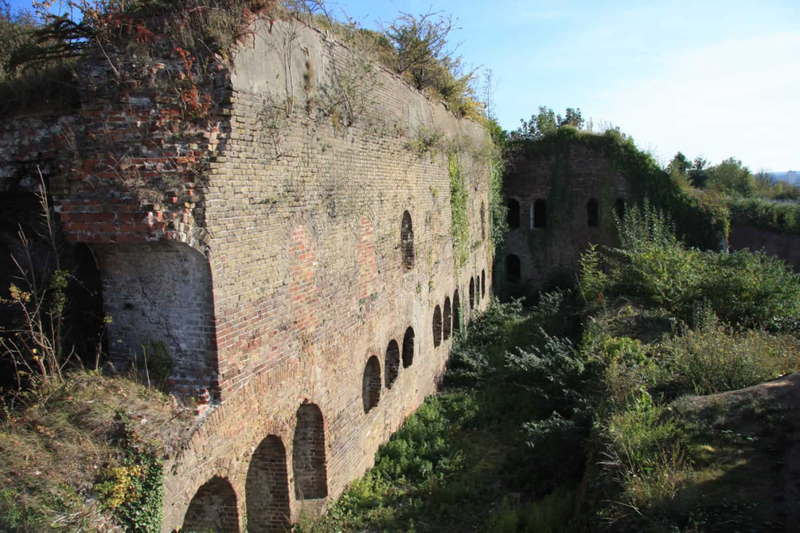 Fort Amherst in Chatham Kent was constructed for protection purposes